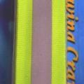 aus gewebe; aus chemiefaser; aus polyester; band; reflektierend;…