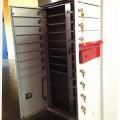 møbler; af rustfrit stål; nøgler; kontormøbler