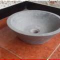 от камък; полиран; мивка; естествен
