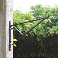 coated, except paper; hooks; mountings, metal; for plants