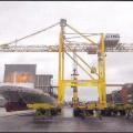rails; cranes