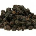 суров; черен; плод; сушен плод