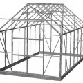 aluminium; profiler; ikke komplet; drivhuse; konstruktioner