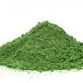 като прах; изсушен; поставени в опаковки; зелен; за човешка консумация