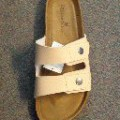 uppers, footwear; outer soles; of rubber; sandals; of polyurethane;…