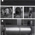 Trenntrommel, Art.-Nr. 791002, - aus einer annähernd zylinderförmigen Schneidtrommel in einem Rahmen,   mit Messerhaken und Rollenantrieb (Abbildung siehe Anlage),  - zum Trennen von Wurstketten,...
