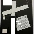 klisterremsor; av plast; i detaljhandelsförpackning; papper; klädesplagg; självhäftande; klistermedel; på båda sidorna; silikon