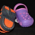 van kunststof; zonder sluiting; schoenen; voor kinderen; de enkels…