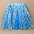 skirts; of polyester; knitted; for children