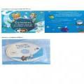 impreso; carton; libro; con texto; ilustrado; disco compacto