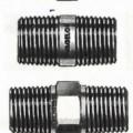 Rohrverbindungsstücke aus Kupfer; Gewindefittings  Bei den Waren handelt es sich um nahezu zylindrische Hohlerzeugnisse in gerader Ausführung mit und ohne Sechskant, beidseitig mit Außengewinde,...