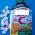 dėl sveikatos; maisto papildai; vitaminai; vitaminas c; tablečių pavidalo