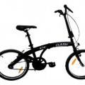 di acciaio; alluminio; velocipedi; biciclette; pieghevole
