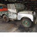 "1950 SERIES 1 80"" LAND ROVER BASIC MODEL. RIGHT HAND DRIVE. 2 DOORS. ORIGINAL COLOUR OF GREEN. IN ITS ORIGINAL STATE, WITHOUT SUBSTANTIAL CHANGES TO THE CHASSIS, ENGINE, STEERING, OR BRAKES...."