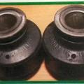 elastic; din metal; pentru autovehicule; vulcanizat; cauciuc natural; amortizoare de suspensie
