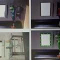 bunuri prezentate ca set; din sticlă; oglindă; suport pentru…