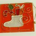 aus spinnstoff; für die dekoration; aus glas; bild; weihnachtsartikel;…