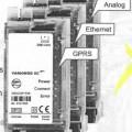 Kommunikationsmodul für Elektrizitätszähler (Abbildung siehe Anlage) - aus einer mit aktiven und passiven Bauelementen bestückten gedruckten Schaltung   in einem Gehäuse mit Datenschnittstelle...