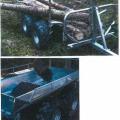 löstagbar; släpfordon; axel; fyrhjulig
