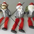 aus spinnstoff; für die dekoration; weihnachtsartikel; aus keramik;…