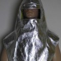 aus spinnstoff; aus gewebe; aluminium; schutzkleidung