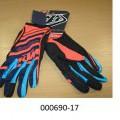 handschuh; klettverschlussband