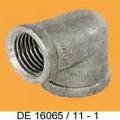 """Rohrverbindungsstück aus Kupfer; Verschraubung  Bei der Ware handelt es sich um ein rohrförmiges Erzeugnis mit einem Winkel von 90 Grad mit 2 Innengewinden à 1/2"""". Die Ware besteht aus..."""