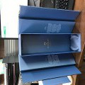 containers; boxes; cases; paperboard; with fittings