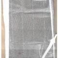 z vrvjo; iz plastike; izdelan iz vrvi; s poliestrom