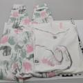 nadrág; pizsama; pamutból; poliészterből