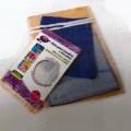 de materia textil; de tejido; envoltura; para guardar