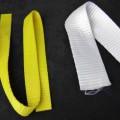 polyester; aus synthetischer chemiefaser; band; mit echten webkanten