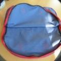 z textilního materiálu; tkaniny; se zapínáním na zip; s vnější…