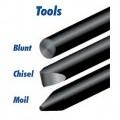 z oceli; vyměnitelné nástroje; z lité oceli; hroty nástrojů