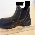 af læder; til unisex; som dækker anklen; støvler; polyurethaner