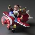 av plast; med text; gran; till jul; flygplan; för prydnadsändamål