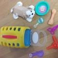 od plastične mase; pakirani za pojedinačnu prodaju; za djecu;…