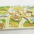aus holz; für kinder; spielzeug; puzzle; tiere