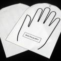 aus kunststoff; mit öffnung; mit aufdruck; handschuh; folie;…