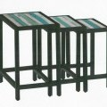 aus holz; aus metall; möbel; tisch