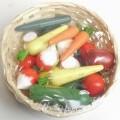 warenzusammenstellung; aus holz; tomate; gemüse; für kinder;…