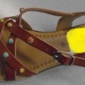 uppers, footwear; outer soles; sandals; of plastic; for women;…