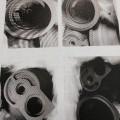 di metallo; con metallo; di getto di ghisa di acciaio; prodotti