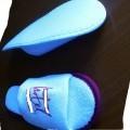 suole esterne; di materia tessile; calzature da camera; con materia…