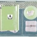 zboží upravené v sadách; na jedno použití; s lepicí vrstvou;…