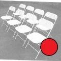 plastik; siddemøbler; stole; rør