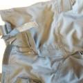 med lynlås; af syntetisk fiber; til beskyttelse mod regnen; af…