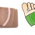 z tkaniny; smyčkové tkaniny; bandáže, pásy