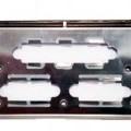 z oceli; z obecných kovů; počítače; panely; pro počítače