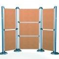 of aluminium; frames; panels; for advertising